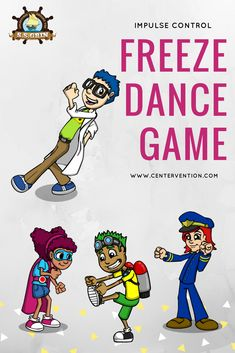 This lesson uses the Freeze Game to helps students in elementary school improve Impulse Control and classroom behavior. Therapy Activities, Learning Activities, Play Therapy, Articulation Activities, Music Therapy, Therapy Ideas, Summer Activities, Speech Therapy, Social Thinking