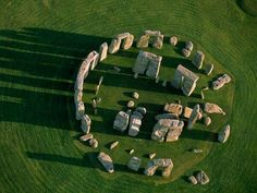 Stone Henge from above.