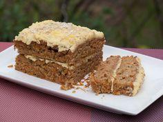 Vegan carrot cake (gâteau à la carotte) (vegan) - Au Vert avec Lili