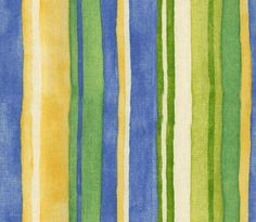 I love these colors.  Waverly   OCEAN DRIVE Stripe Blue Green Yellow White Stripes