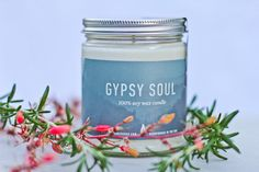 Gypsy Soul was inspired by the free wandering flower child. Light during the afternoon to let your soul rejoice on a journey of creative wonder.