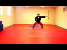 Dan Gun Tae Kwon Do Form - Slow - YouTube