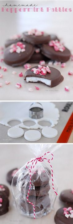 Homemade Peppermint Patties Recipe.