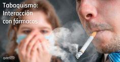 Fumar no es solo perjudicial para la salud, sino que además, tanto la nicotina como otros elementos del humo del tabaco, pueden interferir con el metabolismo de muchos medicamentos. Productos, que son de hecho principios activos, que por inhalación, pasan a la sangre.  Influye el fumar con muchos fármacos, acenocumarol, benzodiazepinas, antipsicóticos y otros muchos medicamentos.