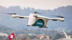 The delivery drones are coming, and they're bearing coffee. If you happened to look at the sky over Zurich, Switzerland on Wednesday, you might have seen a drone fly over the city and deliver a hot cup of java onto the roof of a parked Mercedes-Benz van. As TechCrunch reports, the occasion marks the first successful delivery for Matternet, a logistics company focused on drones.