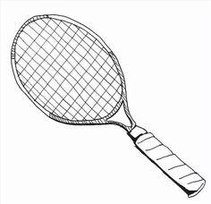 Como desenhar uma raquete de tênis