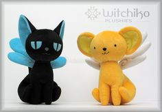 Kero and Spinel Plush::::::::: by *Witchiko on deviantART