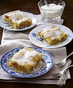 Unser beliebtes Rezept für Gedeckter Apfel-Blechkuchen und mehr als 55.000 weitere kostenlose Rezepte auf LECKER.de.