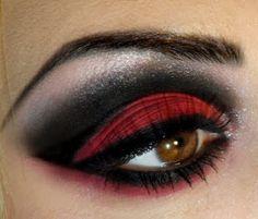 wrath 7 deadly sins eye makeup