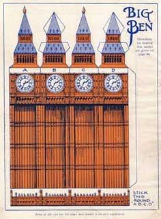 The Big Ben Papercraft