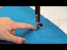 Machine Quilting: More Swirl Designs