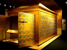 JOJO POST STAR GATES: First sarcophagus of Tutankhamun