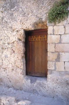 Garden Tomb - Follow Jesus foot steps in the Promised Land | Where Jesus Walked