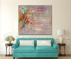 The print is reproduced from an abstract painting by me. It is printed on high quality CANVAS. Title: Fly Away Print Size: 40.00 x 35.00 48.00 x 40.00 Print Option: ▼ Ready to Hang (Stretched Canvas) : Stretched canvas means Ready to Hang Canvas, stretched on 1.6 bars with Mirrored sides. No need framing or stretching. Just hang up on your wall and enjoy it! SIGNED: Yes, signed by the artist(me). on the back. FRAME NOT INCLUDED You can hung the print either vertically or horizontal. Enter…
