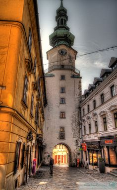 All things Europe - Bratislava, Slovakia (by gionni br ) Bratislava Slovakia, Beyond The Sea, Unique Architecture, World View, Eastern Europe, Travel Inspiration, Travel Ideas, Travel Tips, Luxury Travel