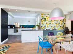 Un espace à vivre de 80 m² aux accents pop