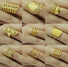 Ali Baba Selani Gold and diamond suppliers Dubai. Italian Gold Jewelry, Gold Jewelry Simple, Gold Wedding Jewelry, Gold Rings Jewelry, Jewelry Design Earrings, Gold Jewellery Design, Necklace Designs, Gold Finger Rings, Gold Ring Designs
