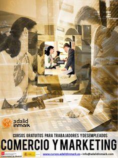 #Curso gratuito en Madrid en Comercio y Marketing para trabajadores y desempleados. Aprovecha ahora esta oportunidad, tenemos la formación que necesitas. #formación #Madrid #comercio #Marketing #Cursos #Gratis