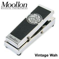 Moollon Custom Effects Vintage Wah Unique Design Split True Bypass Guitar Pedal #Moollon
