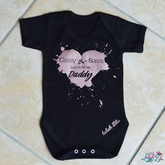 Rose Gold Sassy And Classy I Get It Off My Daddy Baby Grow from Lulah Blu. Personalised the text on this baby grow, we have all sizes from Newborn to 2 years. Daddy Baby Grow, Baby Grows, My Daddy, I Got This, Sassy, Rose Gold, How To Get, Stuff To Buy, Women