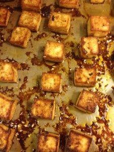 Baked Tofu Recipe - mmmm - From http://pinterest.com/pin/350928995934008084/