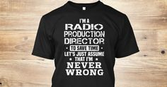 If You Proud Your Job, This Shirt Makes A Great Gift For You And Your Family.  Ugly Sweater  Radio Production Director, Xmas  Radio Production Director Shirts,  Radio Production Director Xmas T Shirts,  Radio Production Director Job Shirts,  Radio Production Director Tees,  Radio Production Director Hoodies,  Radio Production Director Ugly Sweaters,  Radio Production Director Long Sleeve,  Radio Production Director Funny Shirts,  Radio Production Director Mama,  Radio Production Director…