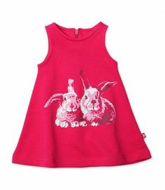 Bunny Screen Terry Baby Jumper
