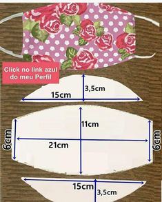 Small Sewing Projects, Sewing Projects For Beginners, Sewing Tutorials, Sewing Hacks, Sewing Crafts, Diy Crafts, Easy Face Masks, Diy Face Mask, Sewing Patterns Free