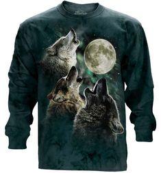 Three Wolf Moon Classic Long Sleeve T-Shirt
