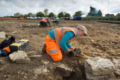 Experts from the Museum of London Archaeology (MOLA)'s Northampton team have spent several weeks at the field in Midland Road, which will soon be the site of 94 houses.    http://www.northantstelegraph.co.uk/news/experts-unearth-the-history-of-site-of-new-houses-in-raunds-1-7634950
