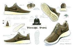 Roshe Run Sketches