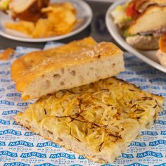 At Mark's off Madison in New York City, Chef Mark Strausman makes focaccia bread that can liven up a small gathering.