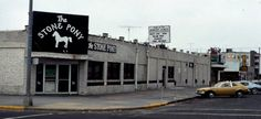 The Stone Pony, a famous rock 'n' roll bar where Bruce Springsteen performed during his early days! E Street Band, Asbury Park, Bruce Springsteen, Rock N Roll, Pony, How To Memorize Things, Places To Visit, Bar, Pony Horse