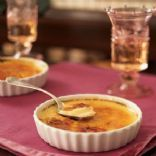 Flan - Atkins Style Recipe    5 eggs  1 cup heavy cream  1 cup water  5 packets of sugar substitute or to taste      1 cap full of almond extract [I like 2 caps of almond]  Dash nutmeg or dash cinnamon    2.1(carb)