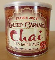 Wedding Favor: Trader Joe's Salted Caramel Chai Tea Latte