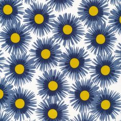 Asters | Indigo from Ground Cover {Jo-Ann Stores Exclusive} by Michelle Engel Bencsko for Cloud9 Fabrics