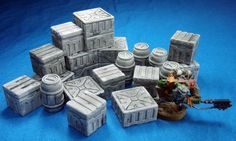 Sci-Fi Crates From War Torn Worlds