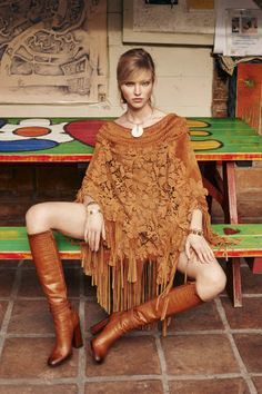 This spring is all about the '70s bohemian look. Shop the full fashion shoot here: