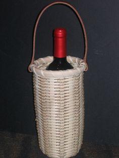 *Seagrass Wine Tote - FREE BASKET WEAVING PATTERN