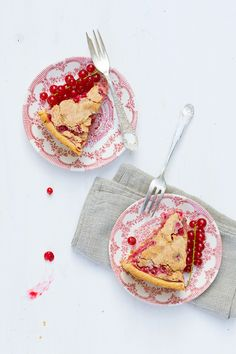 """Have you ever tasted a slice of fresh red currant cake? Hi! It's Liz from """"Food in Motion"""" and..."""