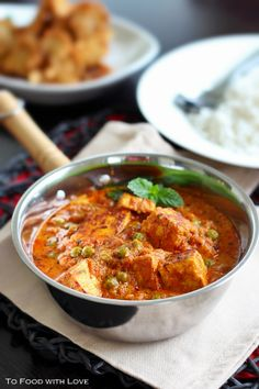 Mutter Paneer (Peas and Cottage Cheese)