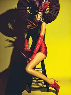 Amanda Murphy by Greg Kadel for Numéro #155