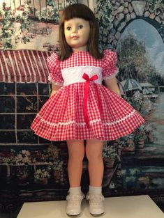Chatty Cathy Doll, Dolly World, Ideal Toys, Kid Clothing, Doll Display, Girls Wardrobe, Dollhouse Dolls, Collector Dolls, 18 Inch Doll