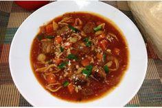 Vetagable & Pasta Shells Meatball Soup images | Meatball and small shell pasta soup | Metro News
