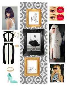 The coldest winter ever by empressnicoleelizabeth on Polyvore featuring polyvore, fashion, style, Karen Millen, Jean-Michel Cazabat, Gorjana, Dorothy Perkins, Designers Guild, Nicole and clothing