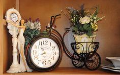 Часы-велосипед