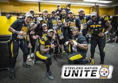 Pittsburgh Steelers · 30 Dec 2016: Steelers Unite is giving members a chance to score a package of 2016 AFC North Champions gear. JOIN NOW: http://stele.rs/adKiUt