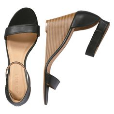 FREE SHIPPING on orders over $50. FREE RETURNS in store. Step out in style in our wedge heel sandals. The chunky heel is right on trend.