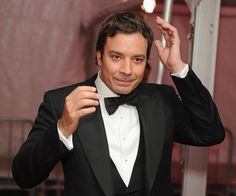 I just think Jimmy Fallon is the best. If you don't believe me, watch any of his artist impersonations: dylan, neil young, jim morrison, bruce. Young Jimmy Fallon, Jimmy Fallon Show, Celebrity Gossip, Celebrity News, Celebrity Crush, Johnny Carson, Tonight Show, Dapper Men, Jim Morrison