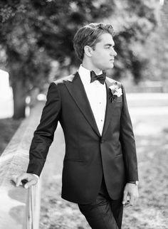 This Wedding Would Make Cinderella Jealous Wedding Groom, Wedding Suits, Bride Groom, Groom And Groomsmen Style, Groom Style, Groom Outfit, Groom Attire, Casual Wedding Attire, Cinderella Wedding